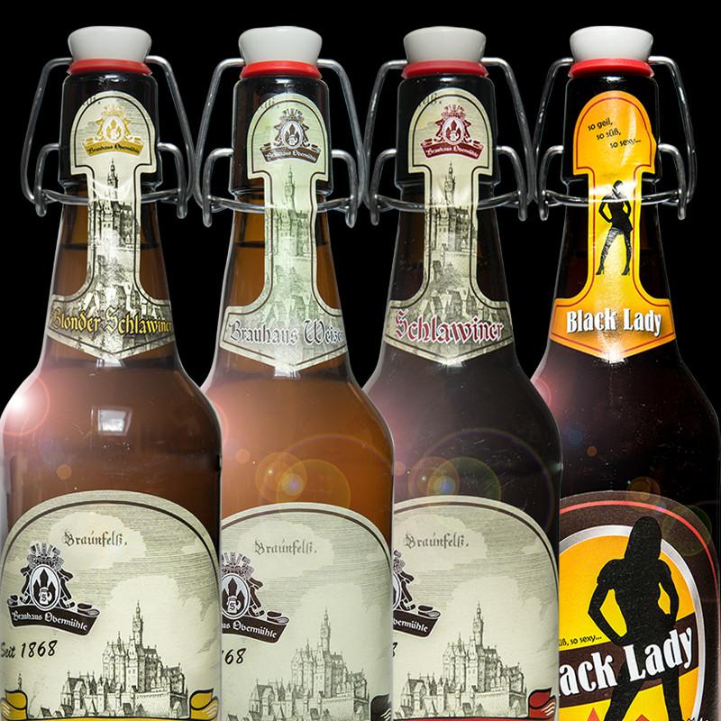 Brauhaus Biere und Getränke für zu Hause
