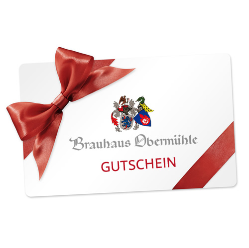 Gutschein Brauhaus Obermühle